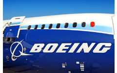 Boeing airplane