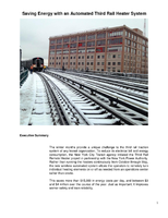 Saving Energy with an Automated Third Rail Heater System?