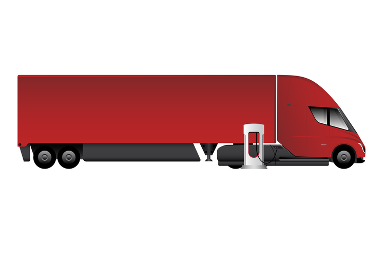 Tesla's Electric Semi Makes Initial Delivery