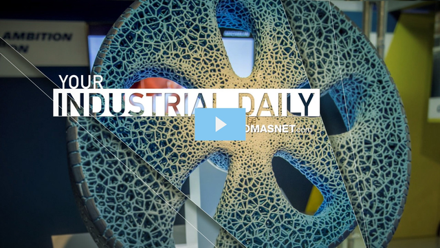 3D Printed Michelin Tires Won't Blow Out