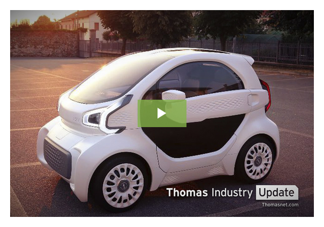 3 Days + $10K = 3D-Printed Electric Car