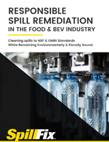 Responsible Spill Remediation in the Food & Beverage Industry