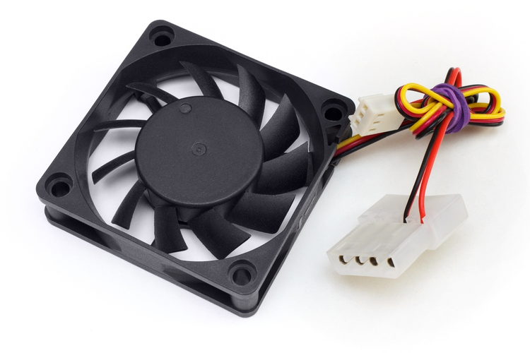 Small electronics cooling fan.