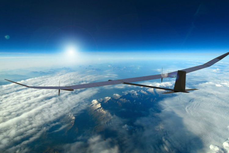 Solar UAV Will Fly for Entire Year