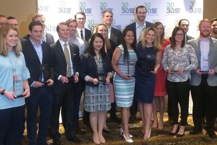 Awarding the 30 Under 30 Rising Supply Chain Stars