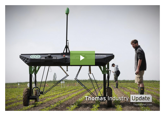Robotic Weed Killer Takes the Field