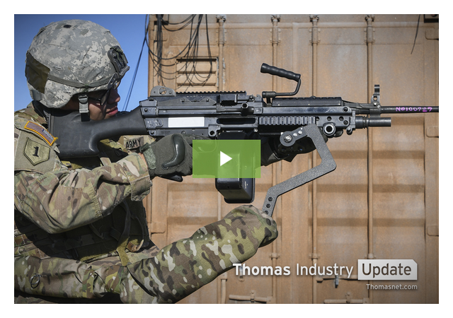 Army's Third Arm Exoskeleton Helps Soldiers Hold Their Weapons