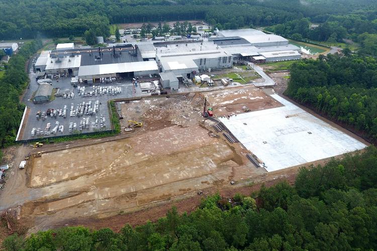 JW Aluminum's facility.