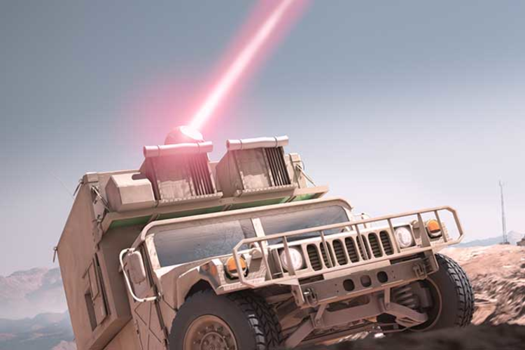 Raytheon Developing Mounted Laser for Army