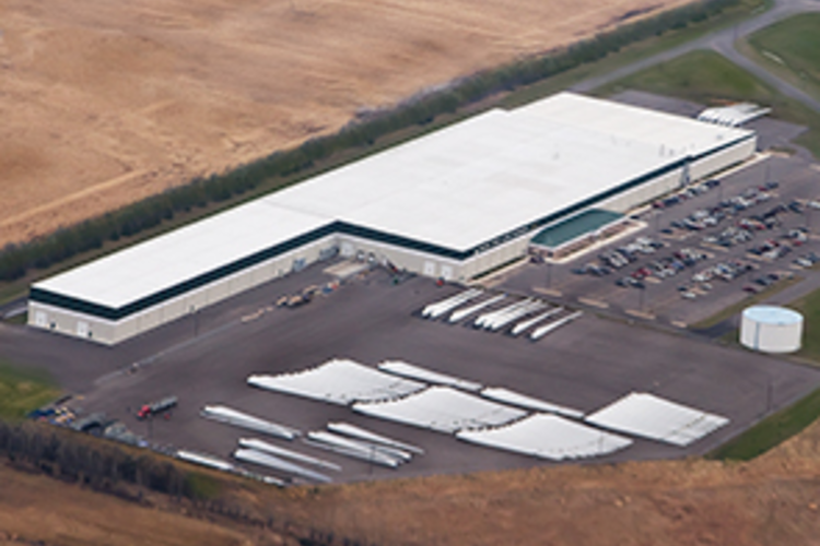 Molded Fiber Glass's South Dakota Plant.