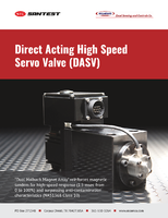 Direct Acting High Speed Servo Valve (DASV)