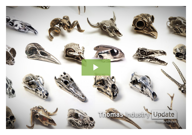 Fire & Bone Shrinks Skulls to Make Intricate Replicas