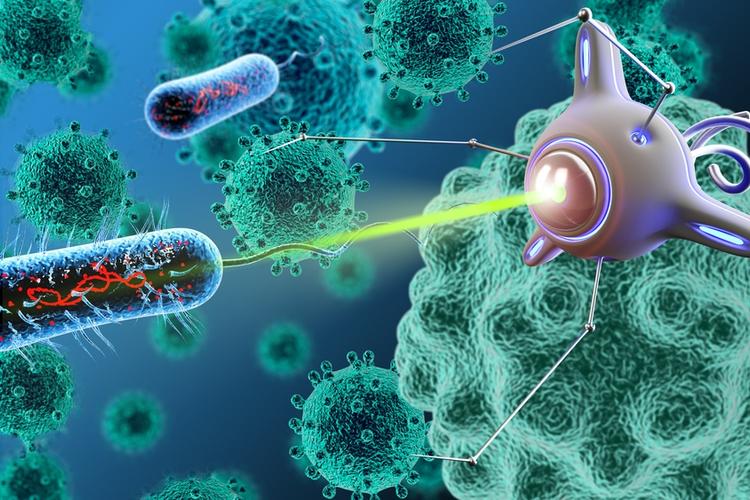 Using Nanobots to Destroy Neuro-Toxins