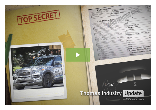 Info Leaked on Latest Ford Explorer, Mustang
