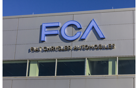 Fiat Chrysler Automobiles (FCA) Building With Logo