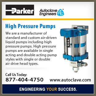 Air-Driven Pumps operate at pressures up to 60,000 psi  Page 568474