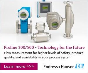 Electromagnetic Flowmeter features EtherNet/IP connectivity