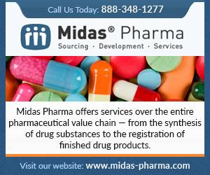 Midas Pharmaceuticals, Inc  Parsippany, New Jersey, NJ 07054